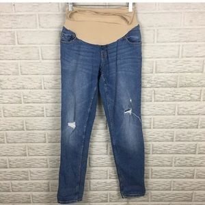 Oh Baby by Motherhood Distressed Maternity Jeans
